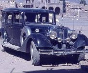 Sana, Yemen - car supposedly given to Iman of Sana by Hitler, courtesy of George Mayer.