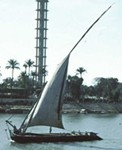Photo from Sgt. Lloyd Lobb - Dhow on the Nile